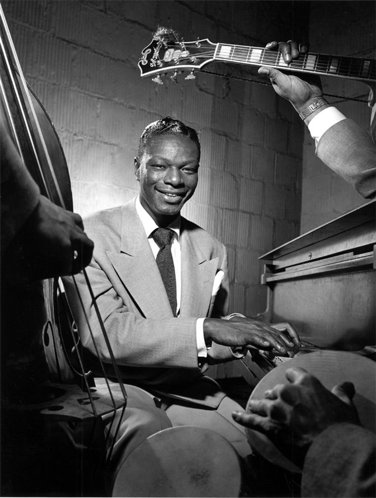 Nat King Cole, NYC , 1949  Silver print  20 x 16 inches  Edition of 30