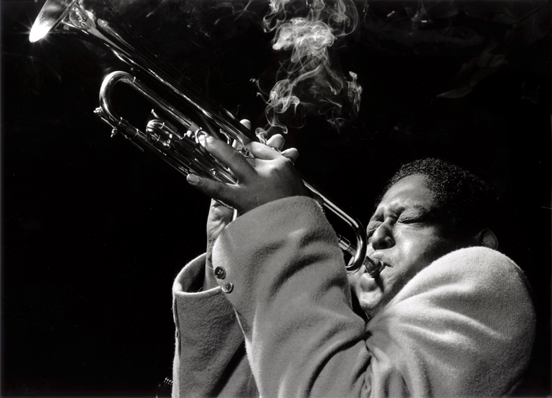 Fats Navarro, NYC , 1948  Silver print  16 x 20 inches  Edition of 50