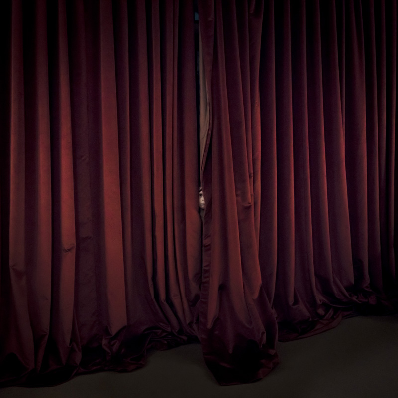 Red Curtains, Dartmoor, England , 2017 14 x 14 inches (edition of 10)  28 x 28 inches (edition of 7)  40 x 40 inches (edition of 5) Chromogenic dye coupler print