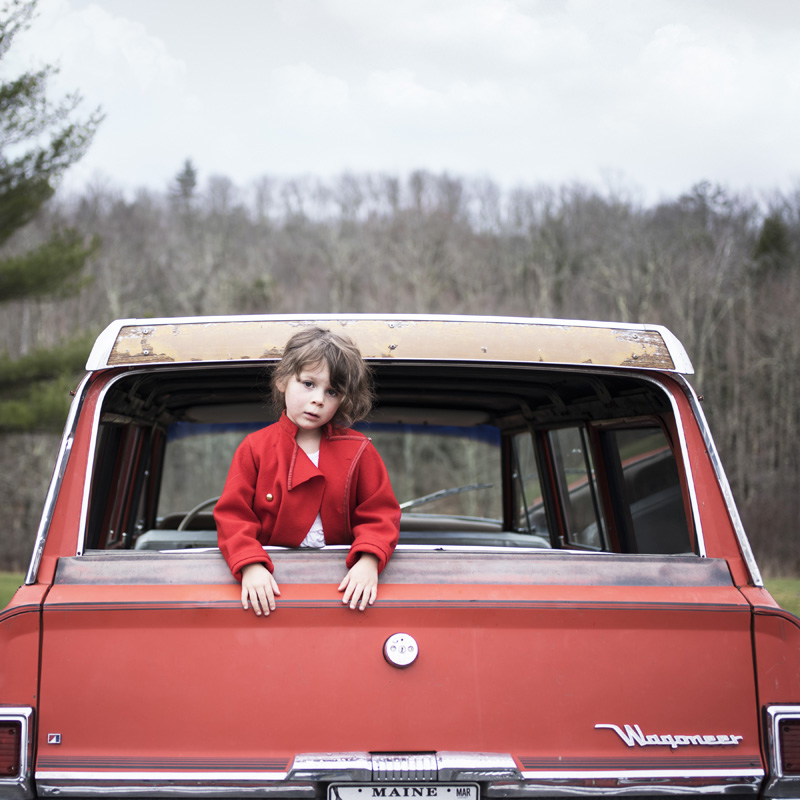 Scout & The Wagoneer , 2016 14 x 14 inches (edition of 10)  28 x 28 inches (edition of 7)  40 x 40 inches (edition of 5) Chromogenic dye coupler print
