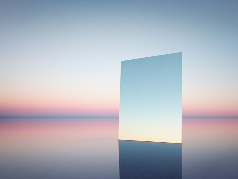 Mirror 12, 2017  Digital pigment print   120 cm x 155 cm (47.25 x 61 inches)  Edition of 7