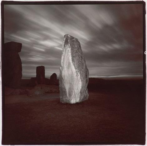Stonehenge #4, 1976  Vintage split-tone print  20 x 16 inches