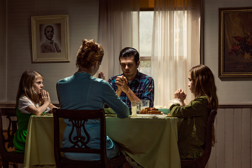 Table Prayer: Belmont House, 2015 Archival pigment print 20 x 30 inches, edition of 12 28 x 42 inches, edition of 3