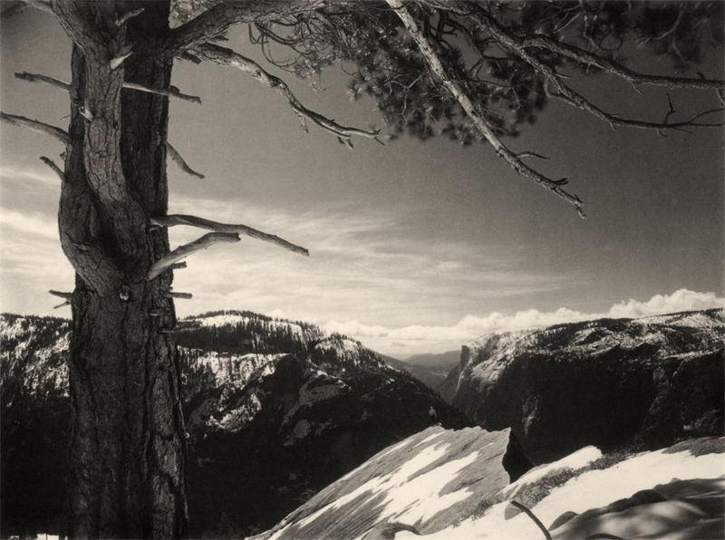 On the Heights, Yosemite Valley , 1927
