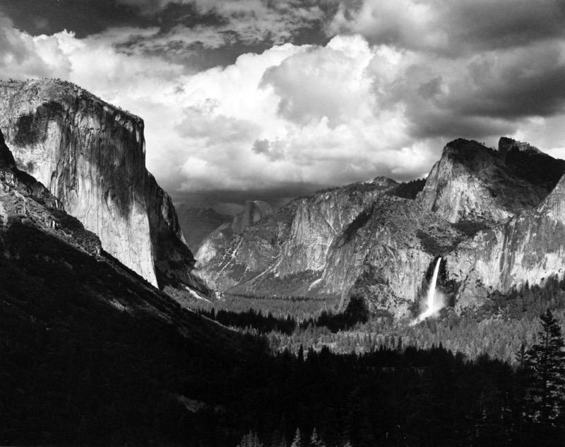 Thunderstorm, Yosemite Valley , 1945