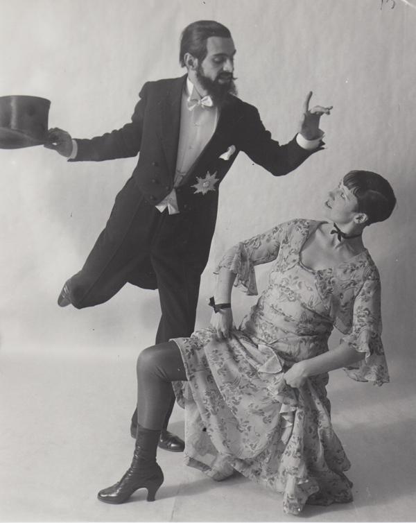 Eckstein, Deuby - Dancing Berlin , 1930 Silver print 9.8 x 8 inches