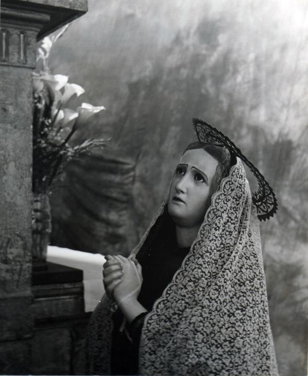 Xocchimilco, Mexico  , 1956  Silver print  14 x 11 inches
