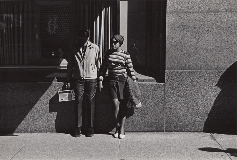 Untitled (couple holding hands) , c. 1960's  Vintage silver print  8 x 10 inches