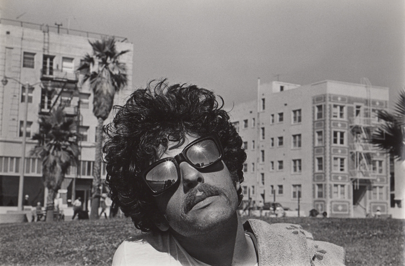 Untitled (Man in sunglasses)   Vintage silver print  8 x 10 inches