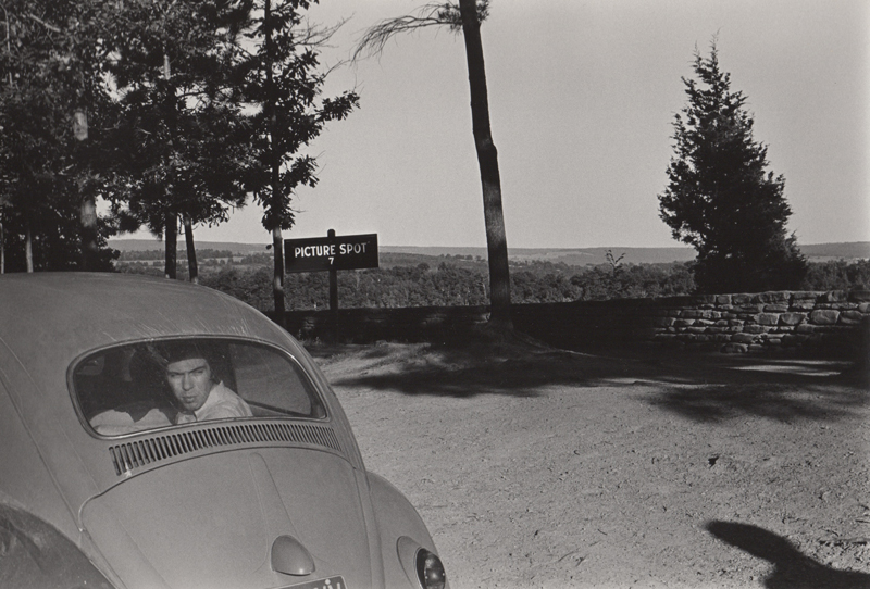 Untitled (Picture spot)   Vintage silver print  8 x 10 inches