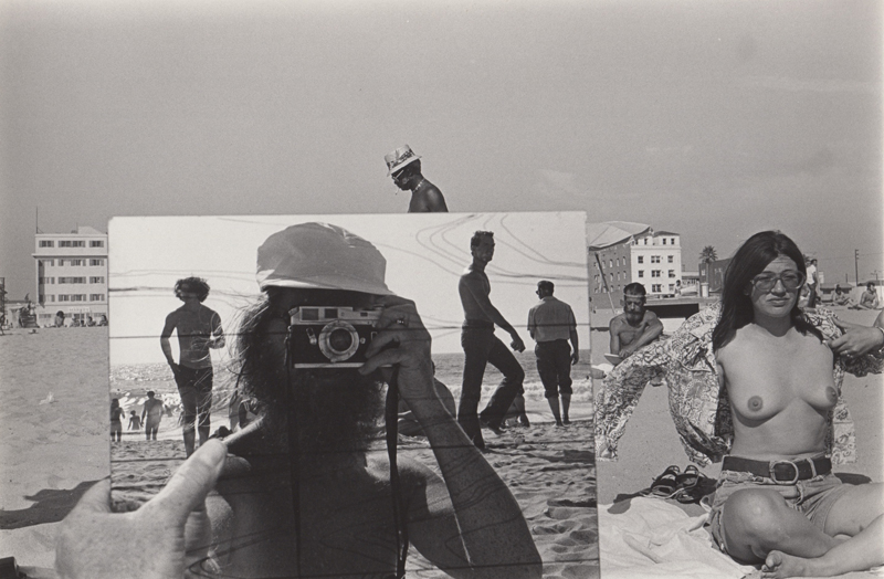 Ed Sievers   Untitled (self portrait in mirror), Venice Beach, CA , 1976 Vintage silver print 8 x 10 inches