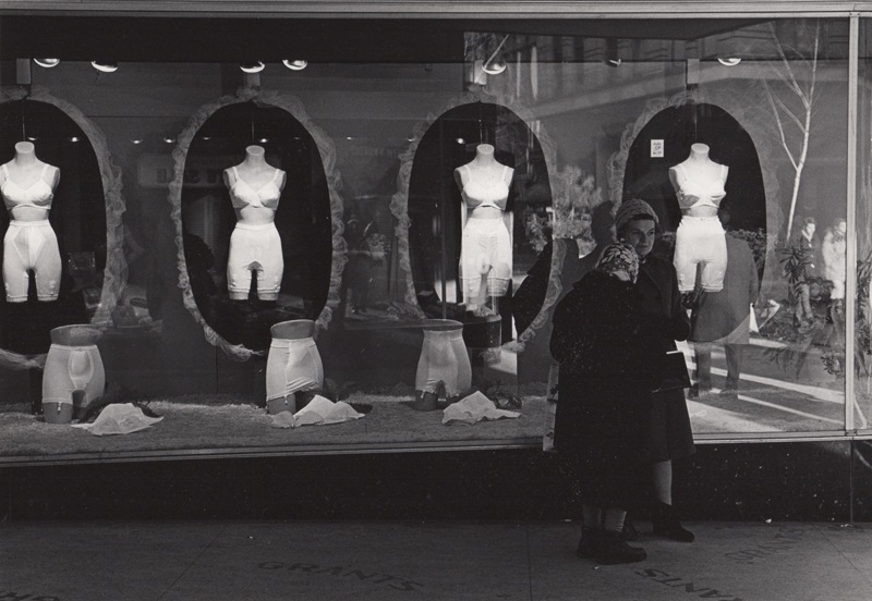Ed Sievers   Untitled (storefront) , c. 1960's Vintage silver print 8 x 10 inches