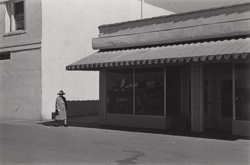 Ed Sievers   Untitled (street scene) , c. 1960's Vintage silver print 8 x 10 inches