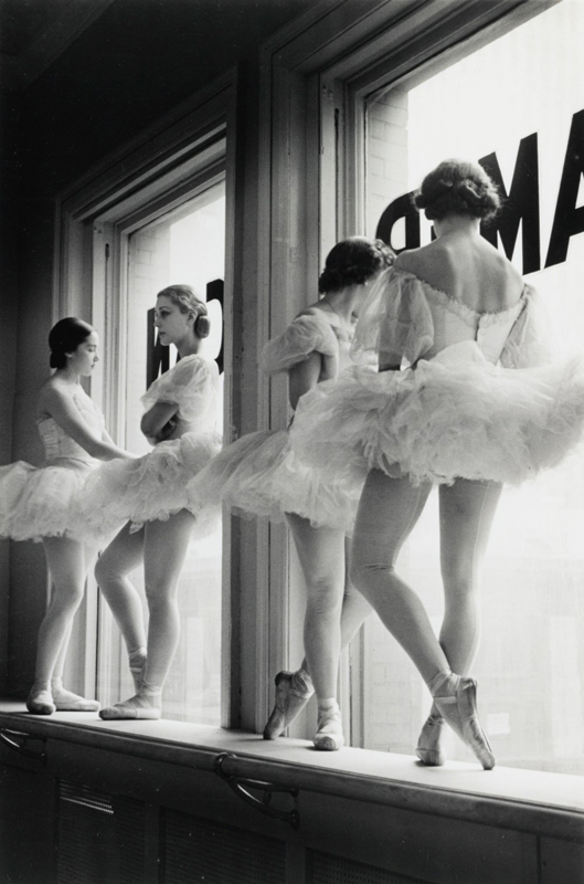 Alfred Eisenstaedt    Future Ballerinas of the American Ballet Theater , 1937  Silver print  20 x 16 inches  Edition of 250