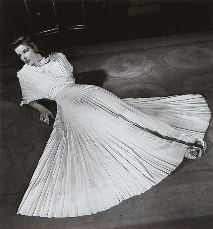 Alfred Eisenstaedt    Katharine Hepburn , 1938  Silver print  14 x 11 inches  Edition of 50