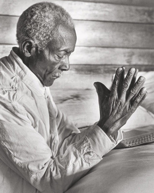 Alfred Eisenstaedt    Uncle Dave at Prayer, Mississippi , 1936  Silver print  14 x 11 inches