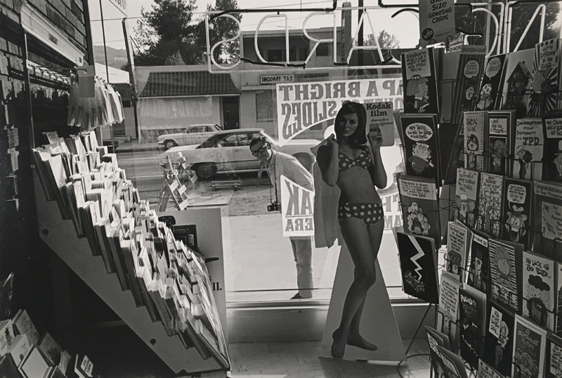 Untitled (cutout of woman) , c. 1970's  Vintage silver print mounted to board  6.375 x 9.5 inches