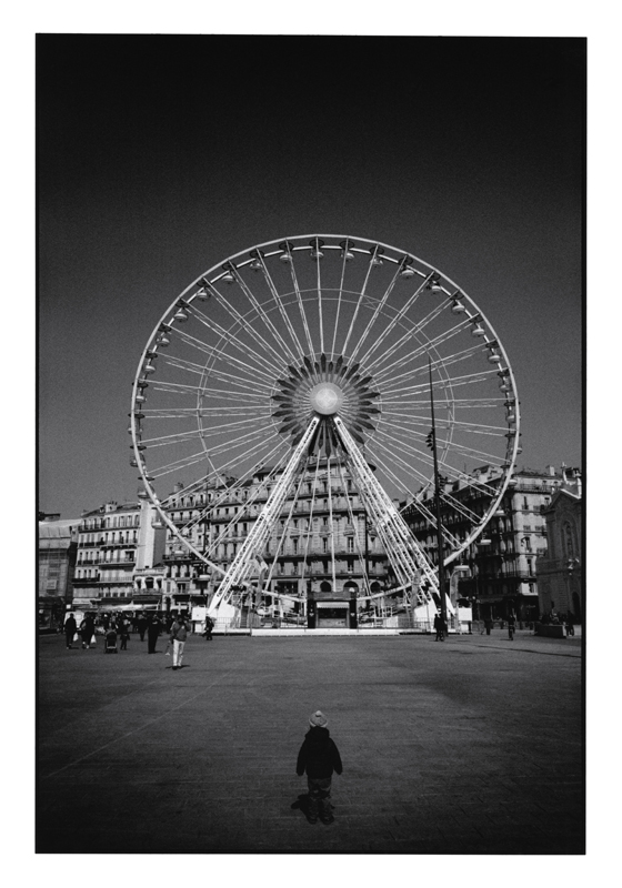 John Mack   Untitled, from the series Marseille , 2016 Silver print 20 x 16 inches Edition of 15