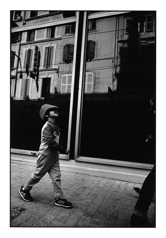 John Mack   Untitled, from the series Marseille , 2015 Silver print 20 x 16 inches Edition of 15