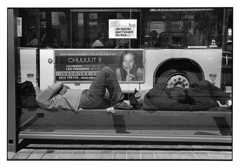 John Mack   Untitled, from the series Marseille , 2012 Silver print 16 x 20 inches Edition of 15