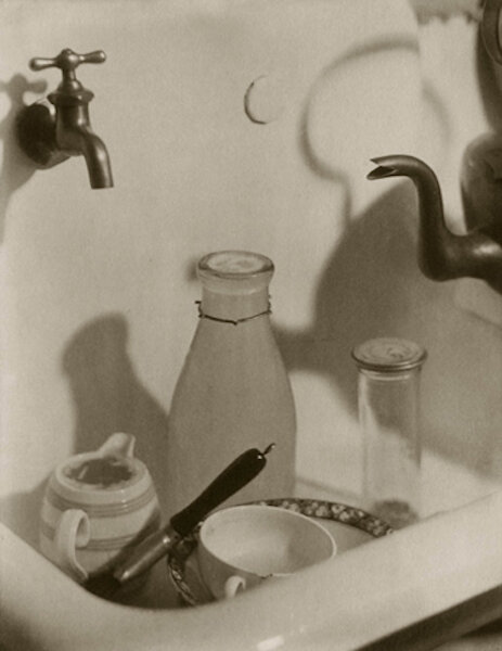 The Kitchen Sink, 1919 8.25 x 6.5 inches vintage palladium print