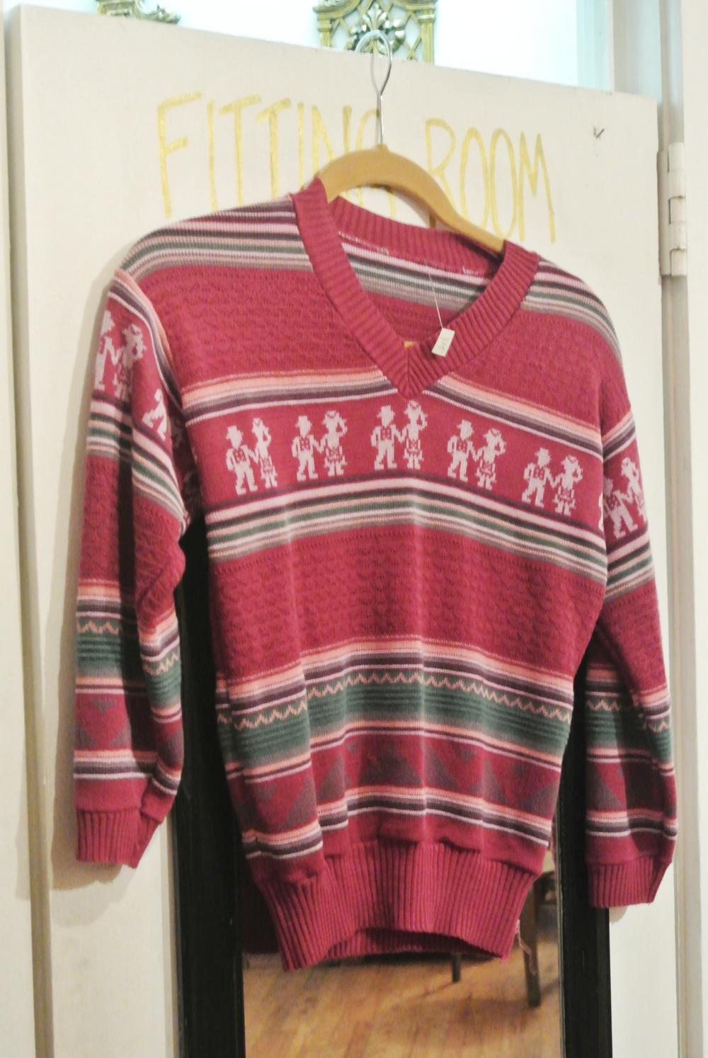 Vintage sweater, $13