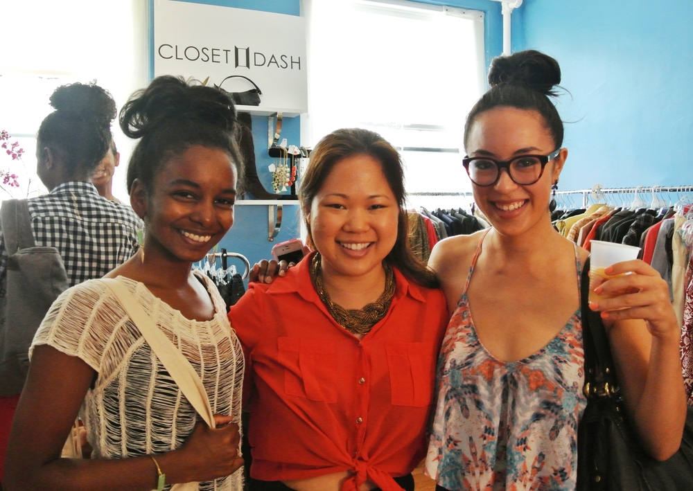 Sunita V and I with ClosetDash founder Jennifer Lee