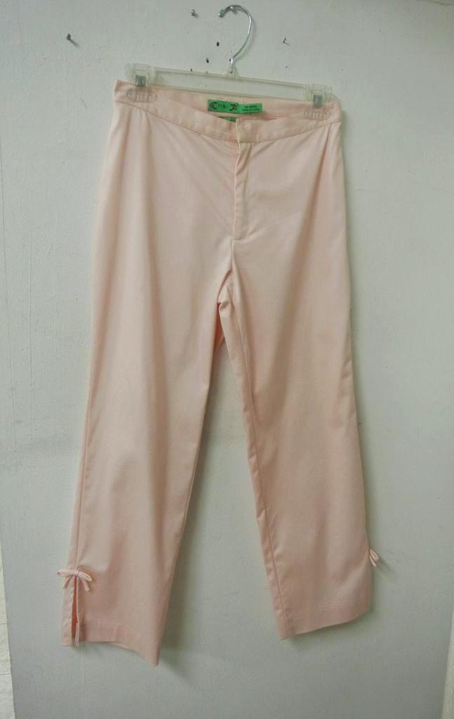 Pink Tibi pants ($5.50)