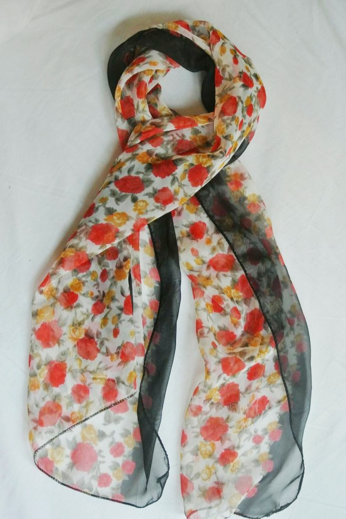 Floral scarf ($3)
