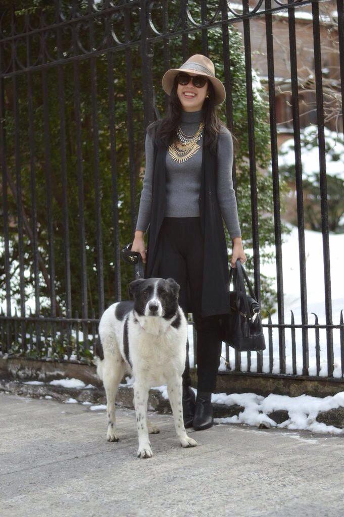 thrifting blogger