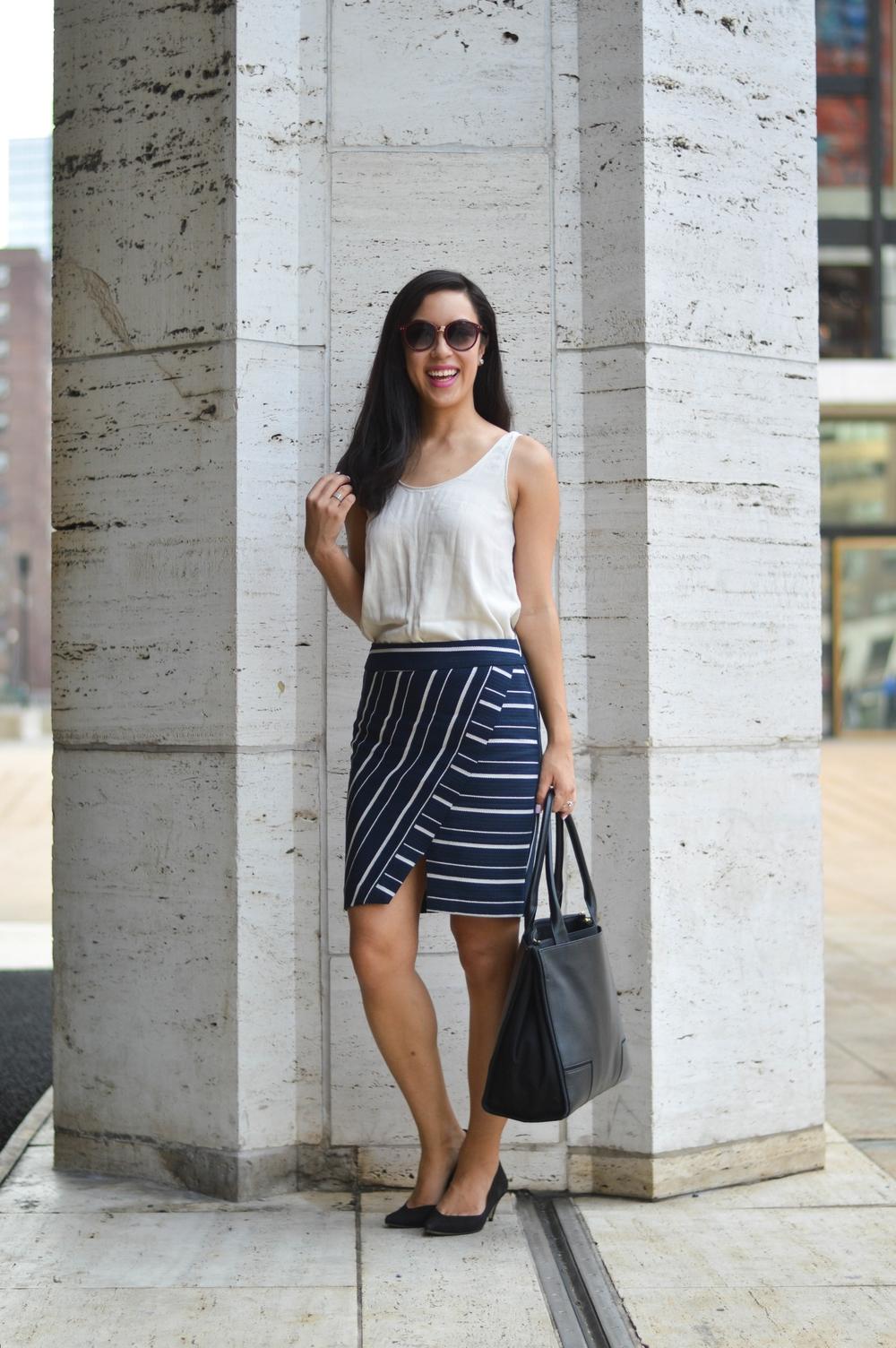 loft skirt blogger