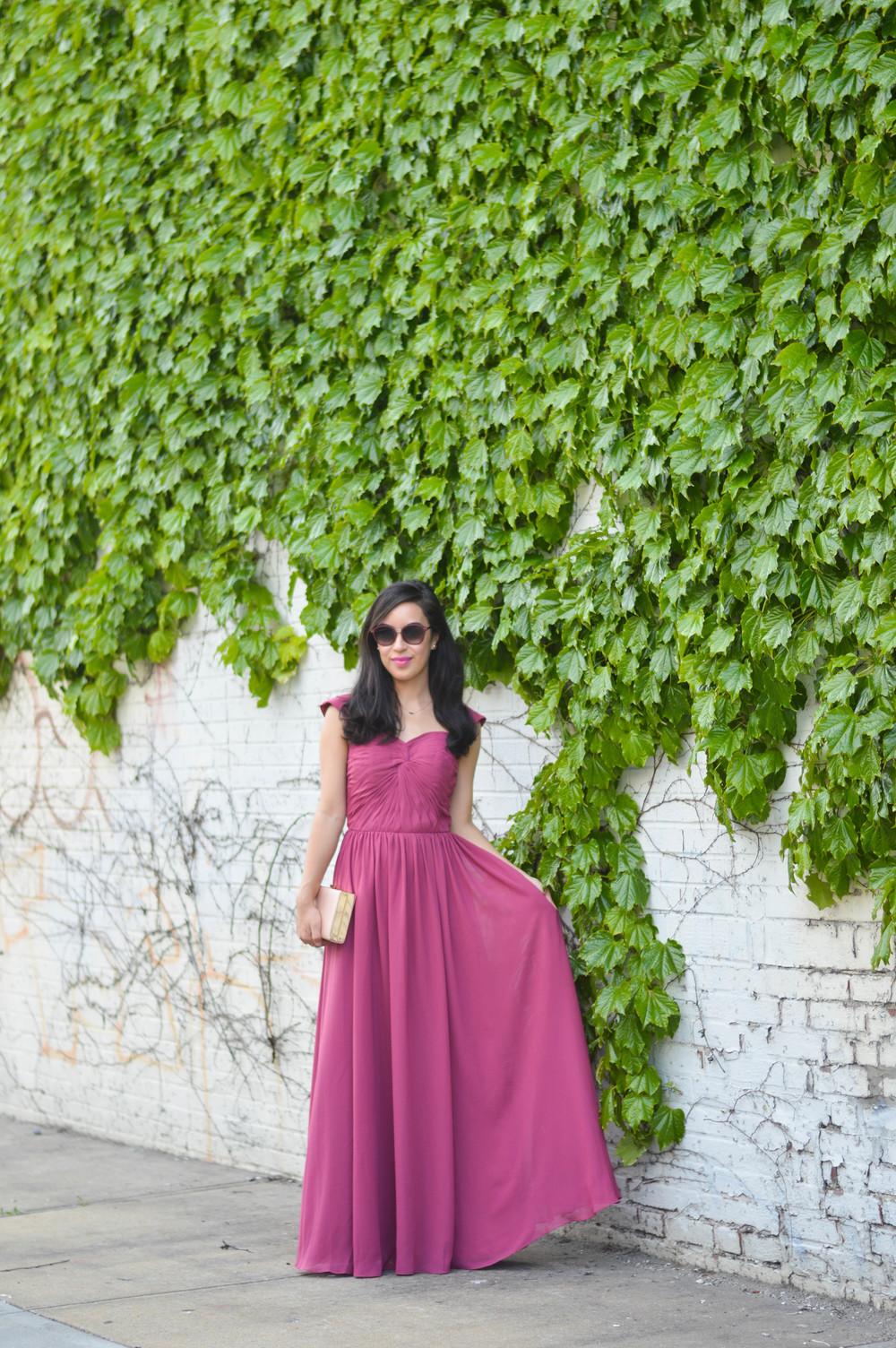 azazie dress review