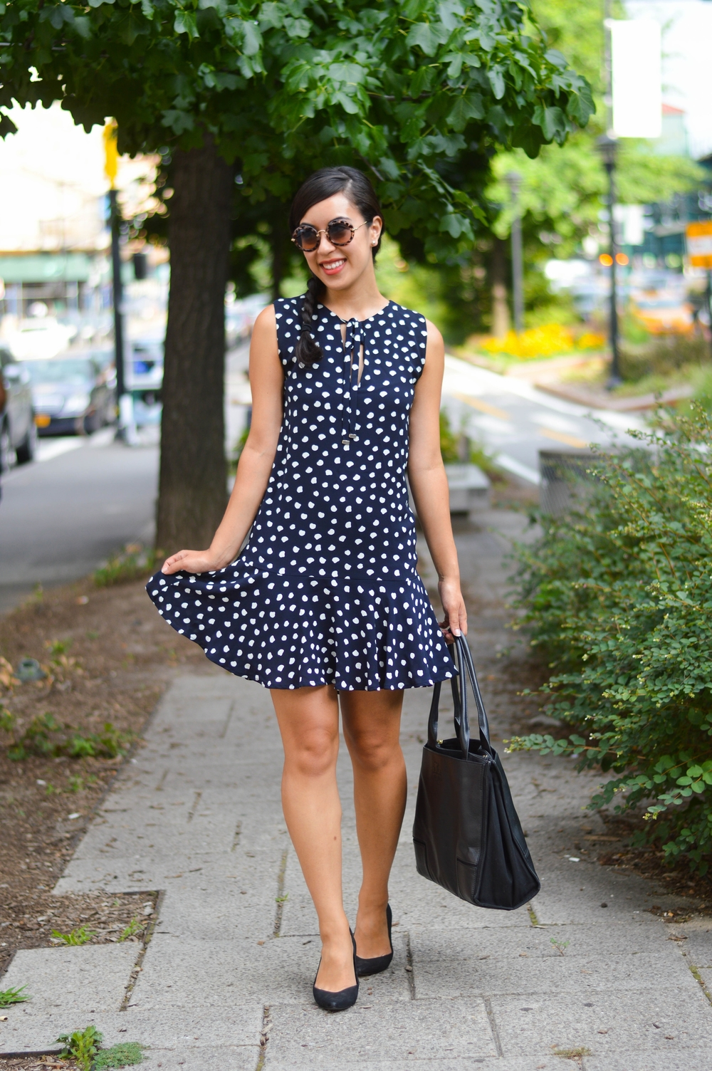 mango dress fashion blogger