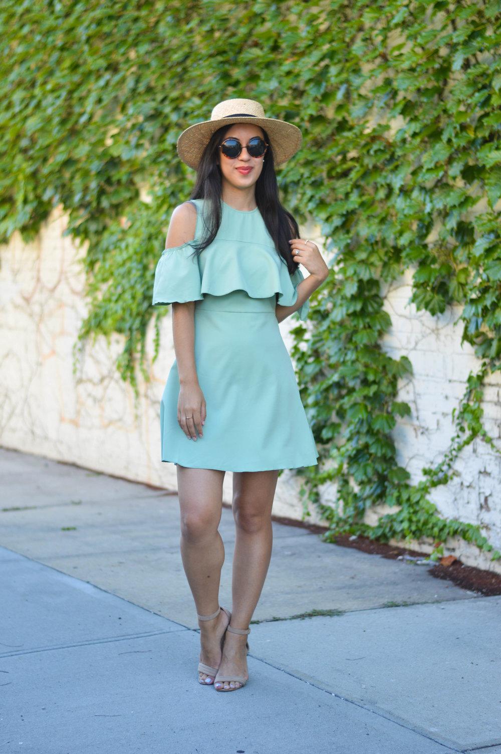 makemechic blogger dress review