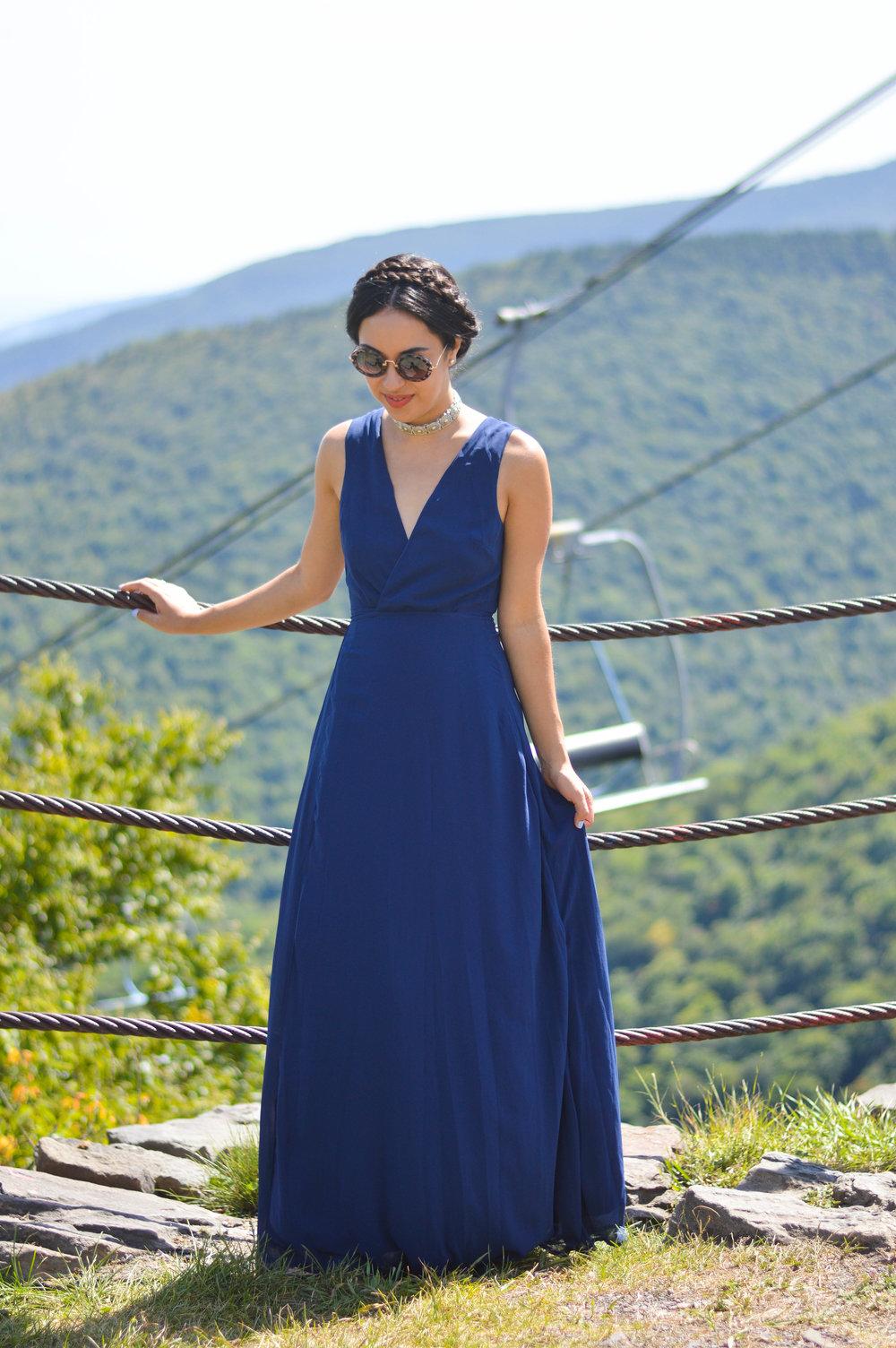 boohoo dress blogger style