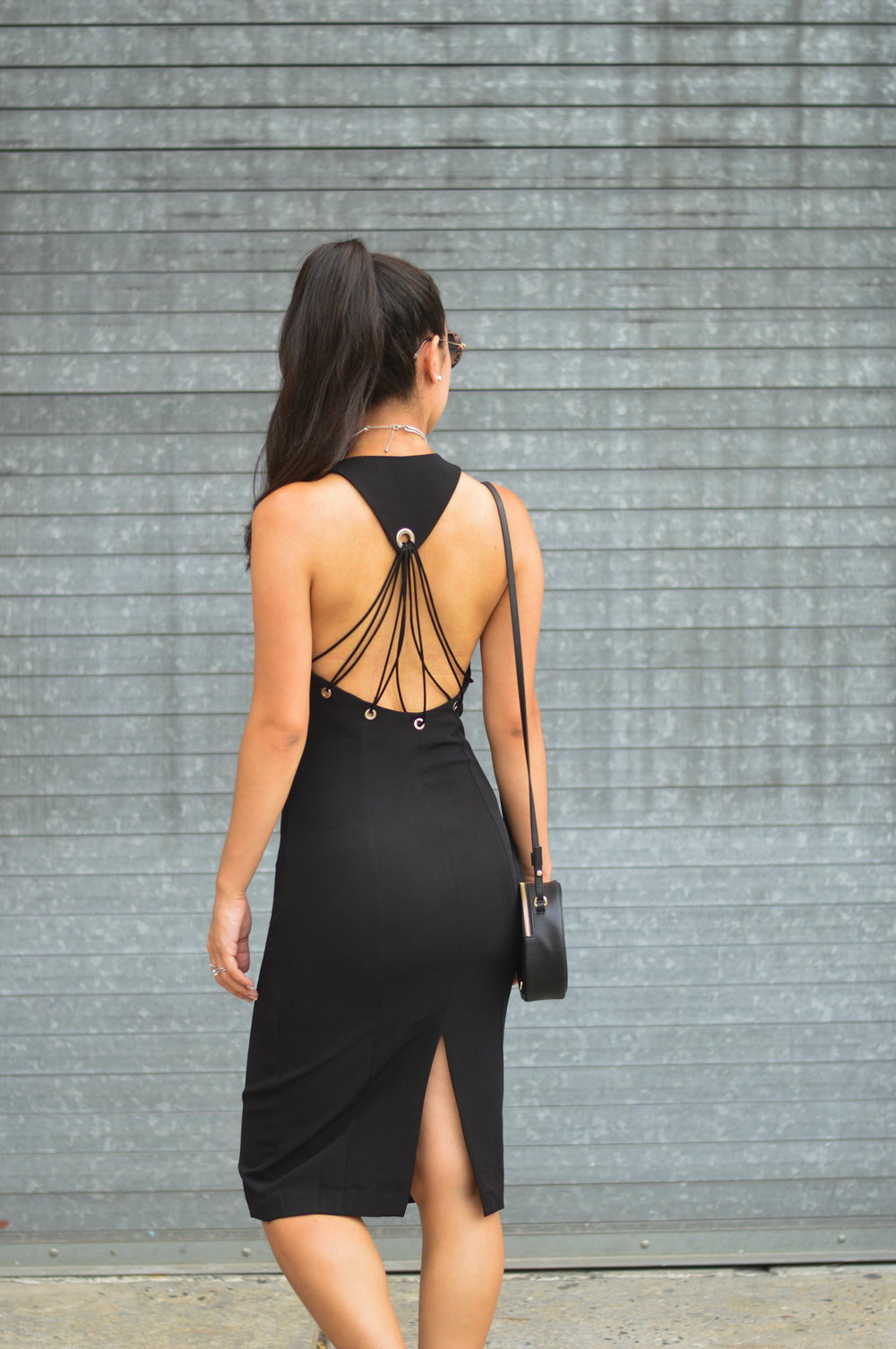strappy little black dress forever 21