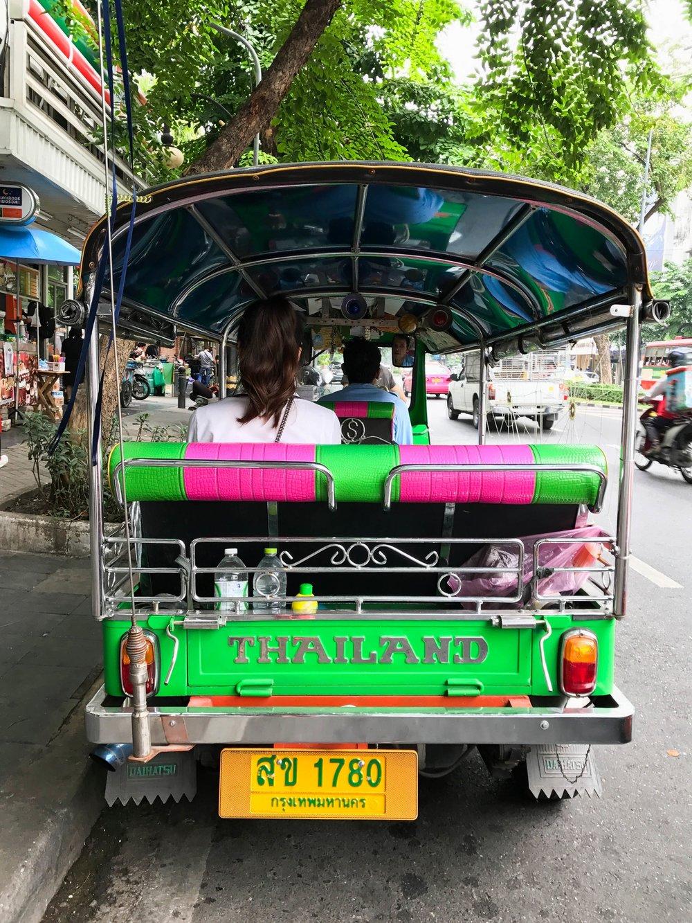 bangkok blogger itinerary