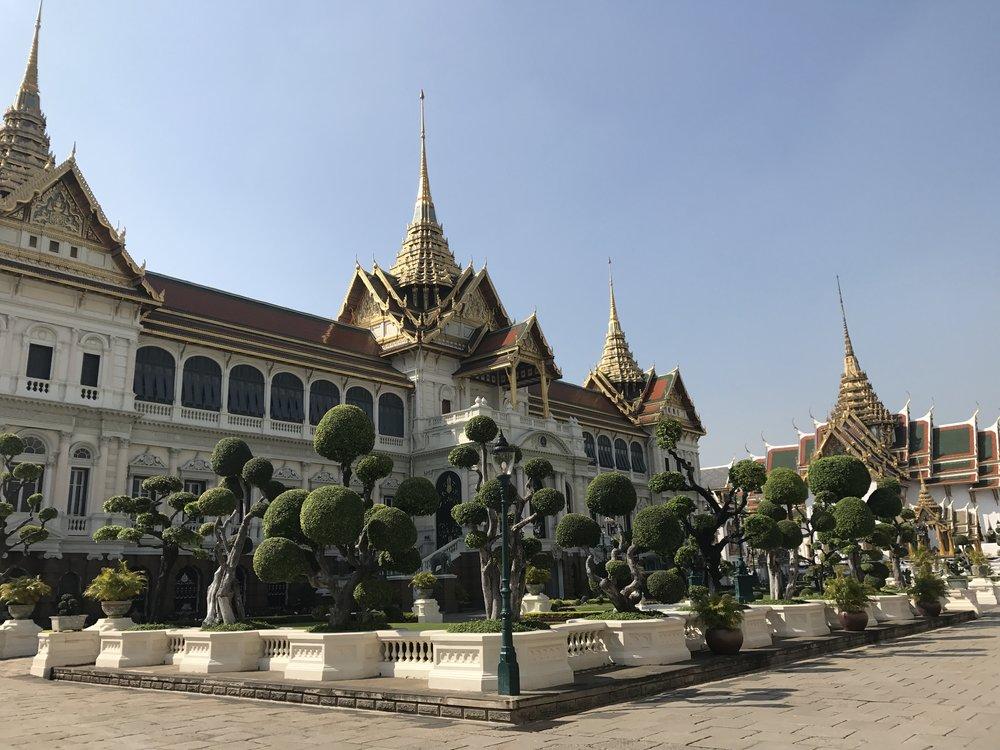 blogger itinerary bangkok thailand