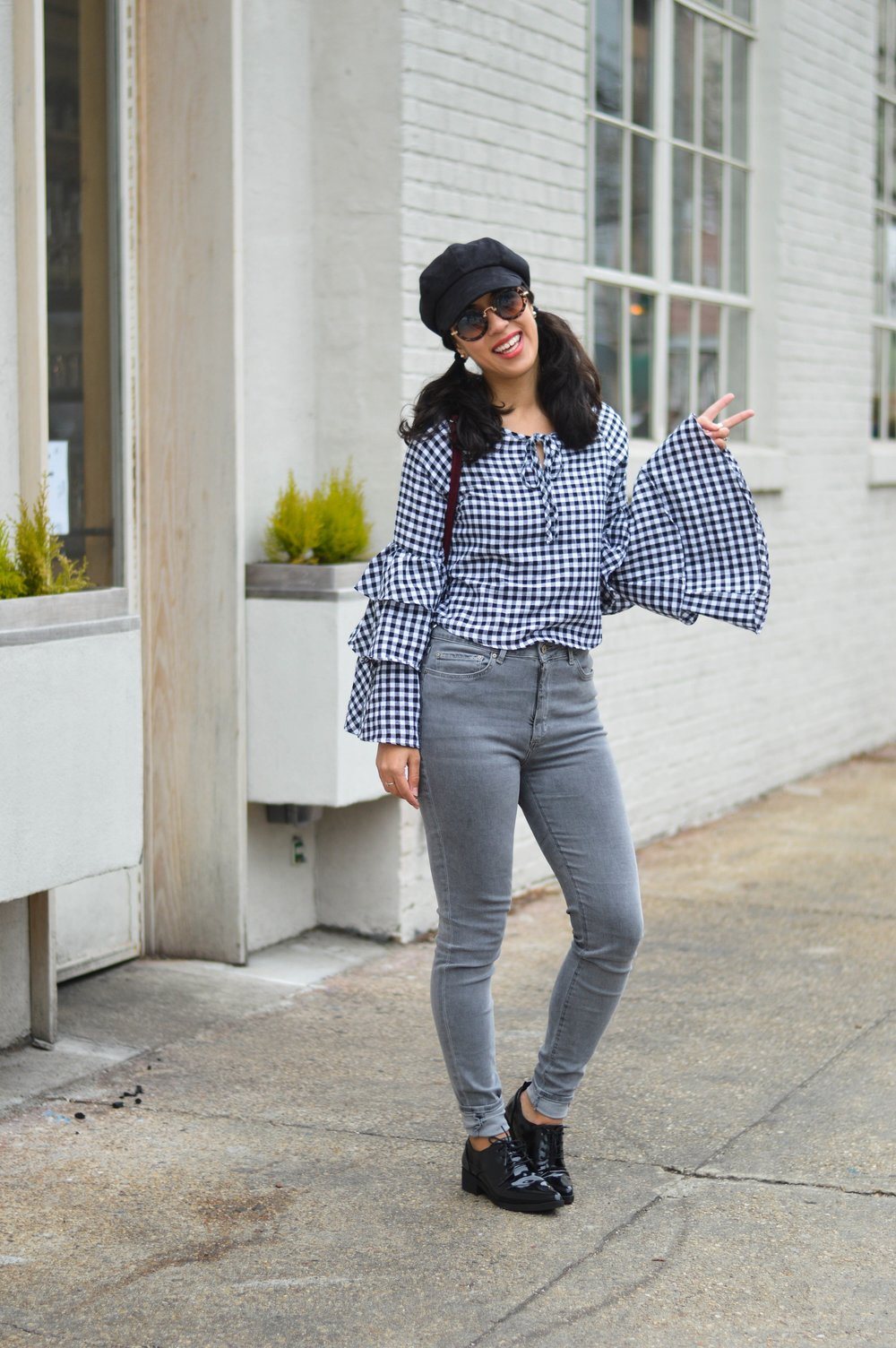 make me chic gingham top