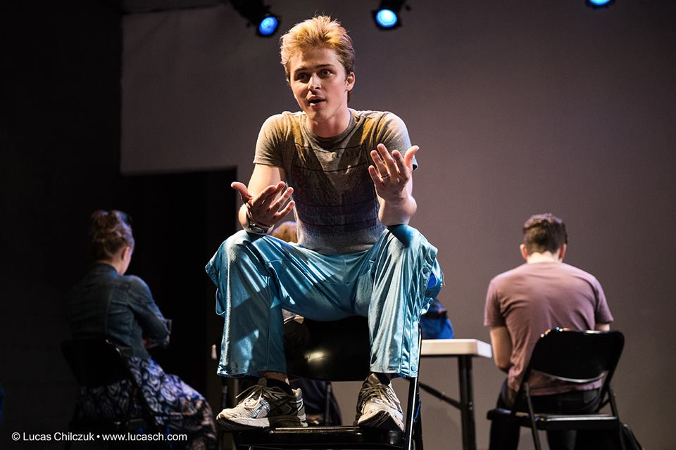 Justin as Brad, the BMW in  Sextortion . July 2013
