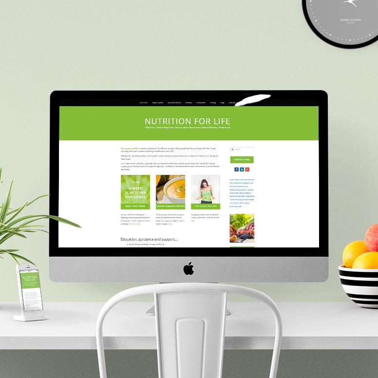 Nutrition for Life | Website