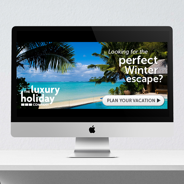 The Luxury Holiday Company | Banner ad