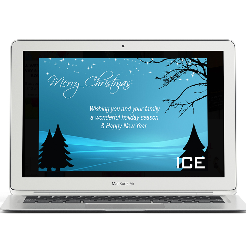 Ice Communications | Christmas card