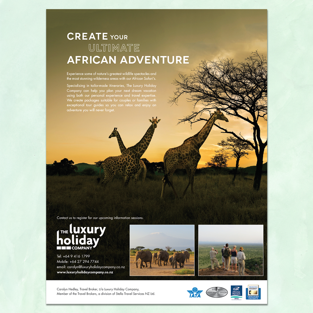 The Luxury Holiday Company | World Magazine Advertisement
