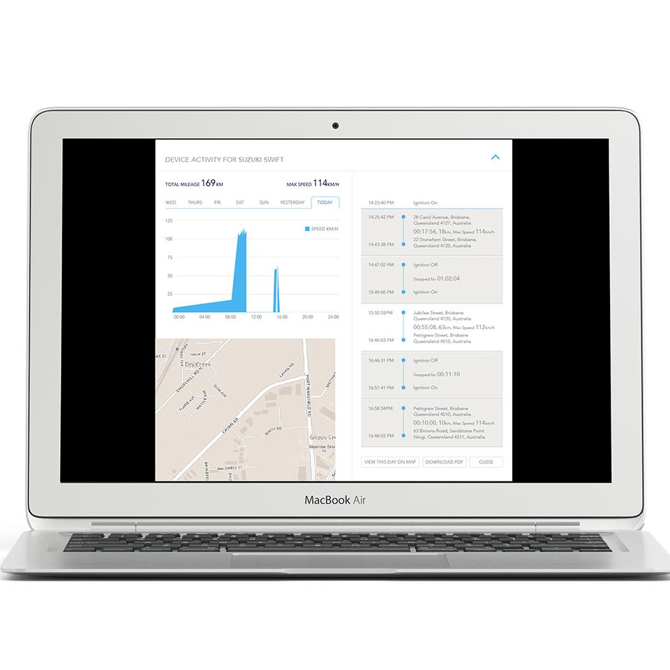 Free Vehicle Tracking | User Interface Design