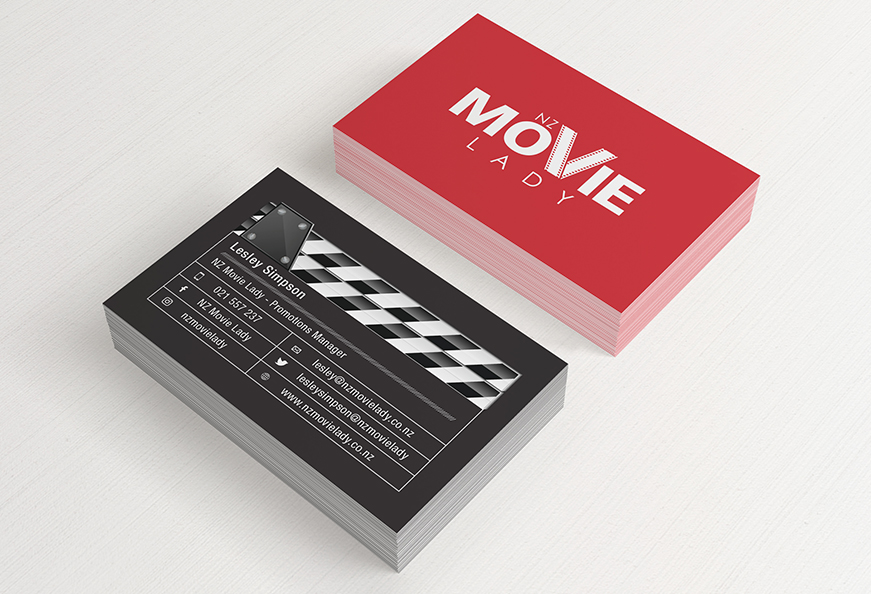 NZ Movie Lady | Logo Design and Business Cards