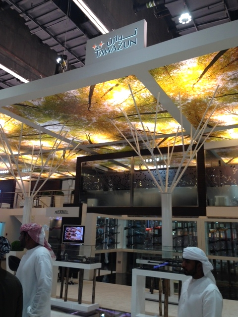 Abu Dhabi-based arms manufacturer Tawazun ran one of the largest stands in the weaponry section of Adihex 2014.