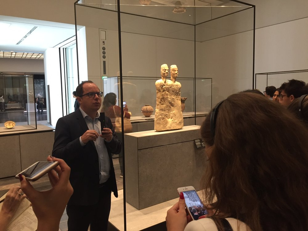 9.      Getting a full tour of the galleries from Jean Francois Charnier. Always a pleasure to listen to someone who is excellent at what they do talk about their work.