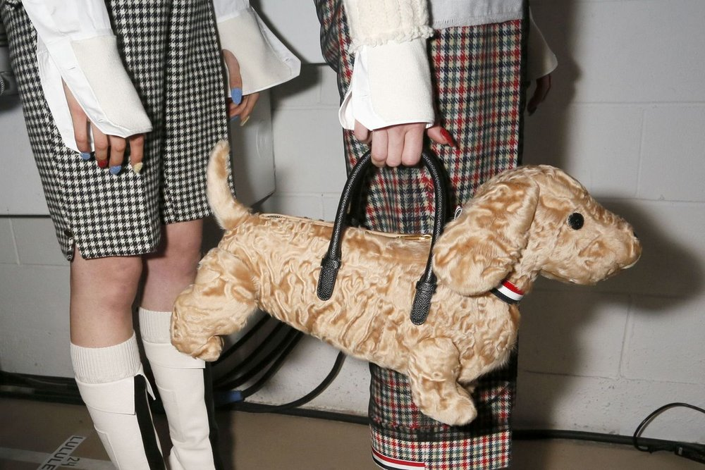 Thom Browne A/W 2017.Photography: Unkown, via Vogue.co.uk