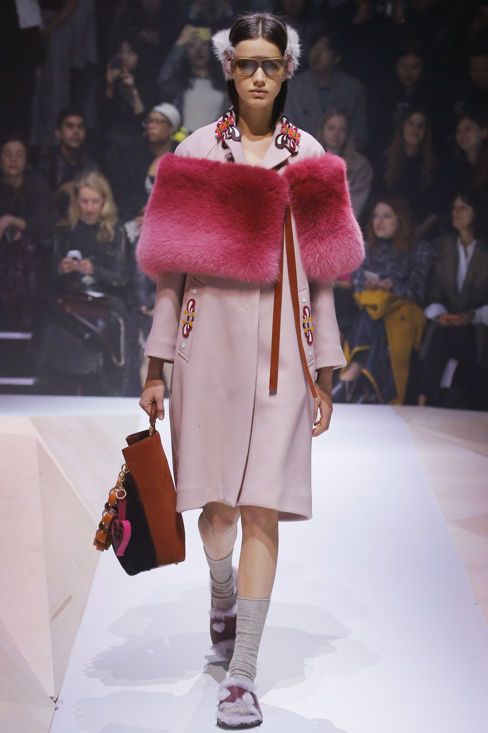 Anya Hindmarch A/W 2017. Photography: Unkown, via Vogue.co.uk